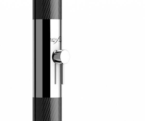 Braccio composito in Fibra di Carbonio struttuale e acciaio Inox AISI 316L